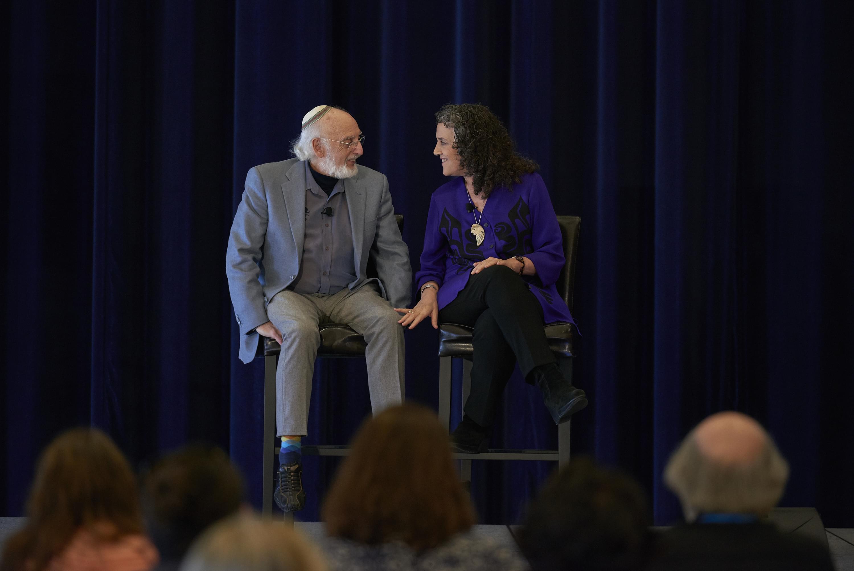 John and Julie Gottman at Utah Date Night